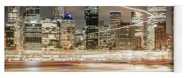 City Blur Yoga Mat