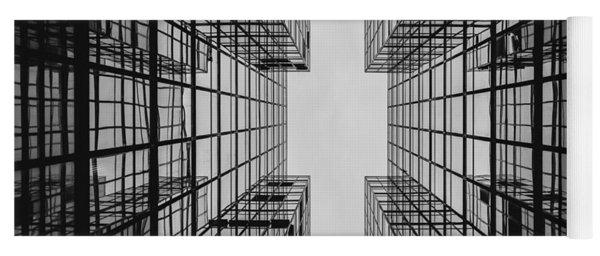 City Buildings Yoga Mat