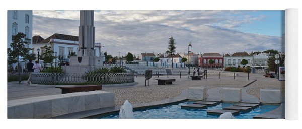 City Center Of Tavira Yoga Mat