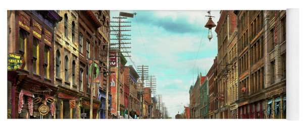 City - Knoxville Tn - Gay Street 1903 Yoga Mat