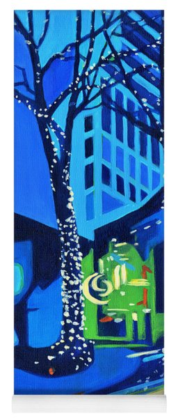 City Lights Yoga Mat