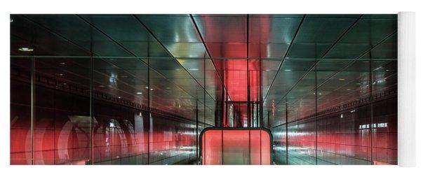 City Metro Station Hamburg Yoga Mat
