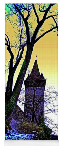 City Of Luzern Medieval Wall Towers Switzerland 3460600170 Yoga Mat