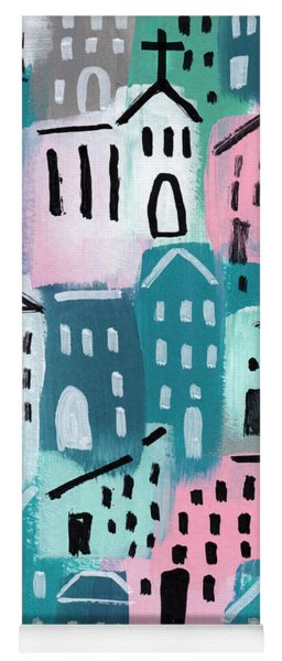 City Stories- Church On The Hill Yoga Mat