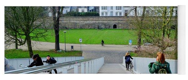 City Wall Maastricht Yoga Mat