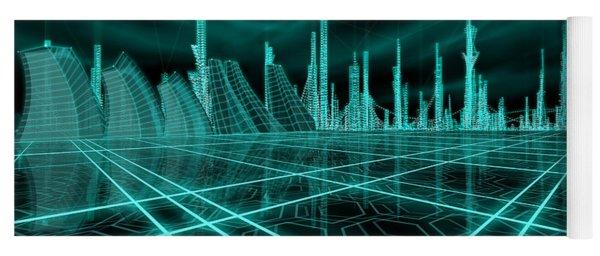 Cityscape 2010 Alpha Yoga Mat