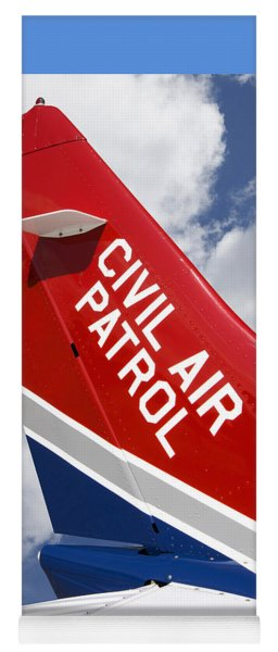 Civil Air Patrol Aircraft Yoga Mat