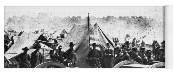 Civil War: Howitzer Gun Yoga Mat