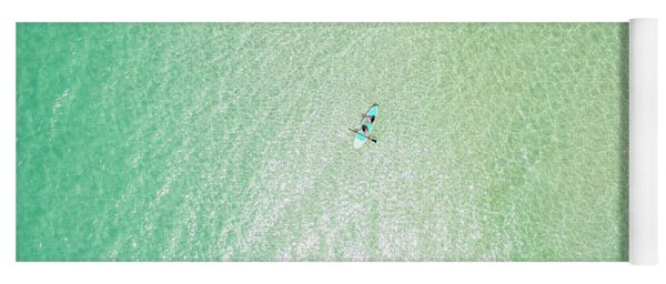 Clear Gulf Paddle Board Aerial Yoga Mat