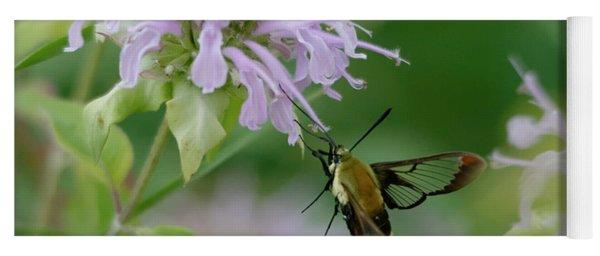 Clearwing Moth Yoga Mat