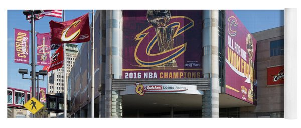 Cleveland Cavaliers The Q Yoga Mat