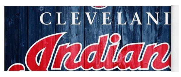 Cleveland Indians Barn Door Yoga Mat