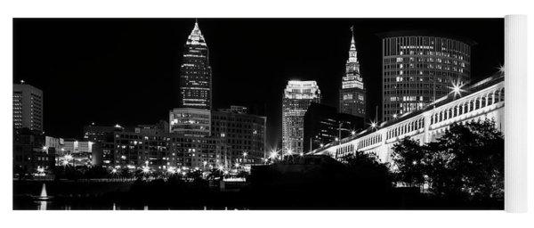 Cleveland Skyline Yoga Mat