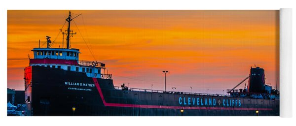 Cleveland Sunset Yoga Mat