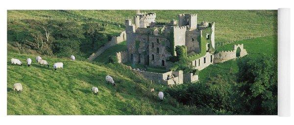 Clifden Castle, Co Galway, Ireland 19th Yoga Mat