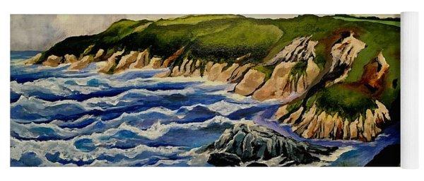 Cliffs And Sea Yoga Mat