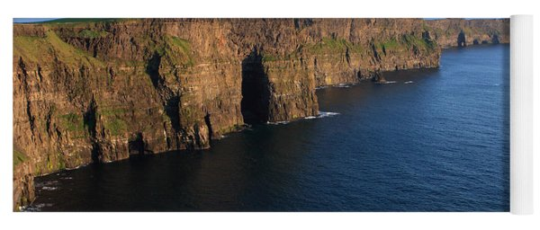 Cliffs Of Moher In Evening Light Yoga Mat