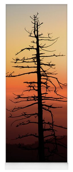 Clingman's Dome Sunrise Yoga Mat