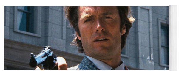 Clint Eastwood With 44 Magnum Dirty Harry 1971 Yoga Mat