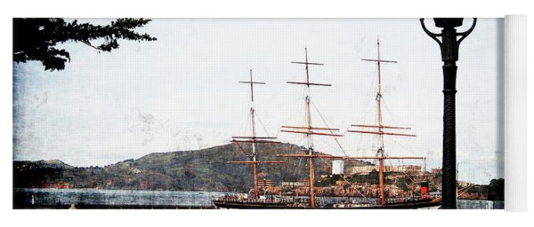 Clipper Ship Yoga Mat