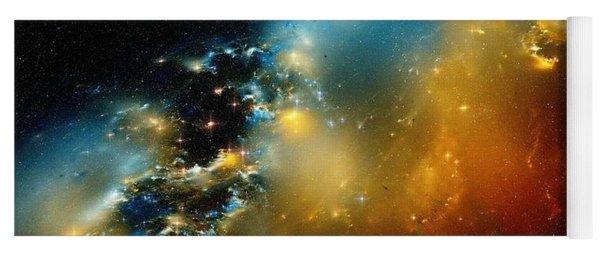 Close-the-pelican-nebula-ionization-front Yoga Mat