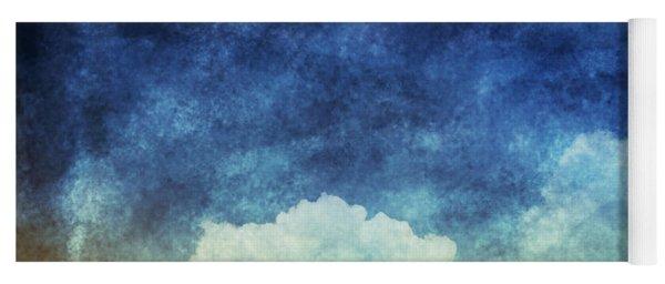 Cloud And Sky At Night Yoga Mat