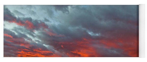 Cloud And Wheat At Sunset Yoga Mat