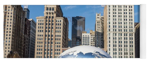 Cloud Gate To Chicago Yoga Mat