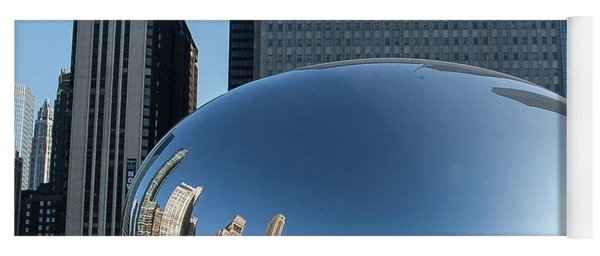 Cloudgate Reflects Yoga Mat
