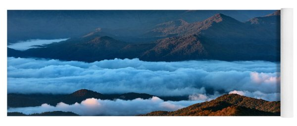 Clouds In The Valley Yoga Mat