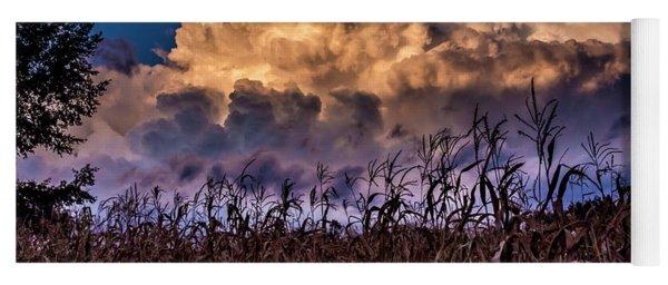 Clouds Over Fagagna Yoga Mat
