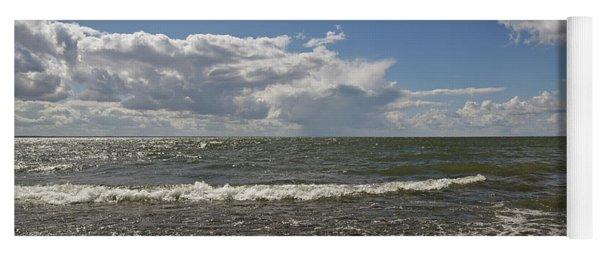 Clouds Over Sea Yoga Mat