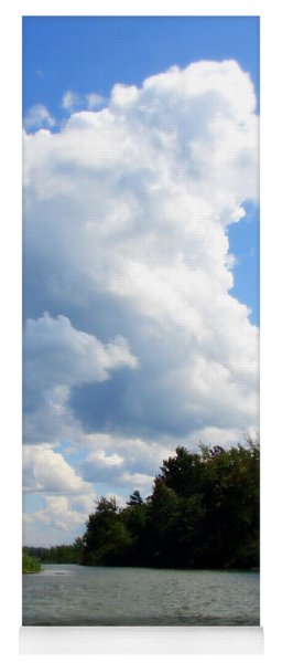 Clouds Over The Platte River Yoga Mat