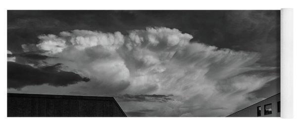 Cloudy Sky Over Bolzano Yoga Mat