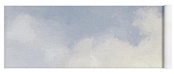 Cloudy Skies Yoga Mat