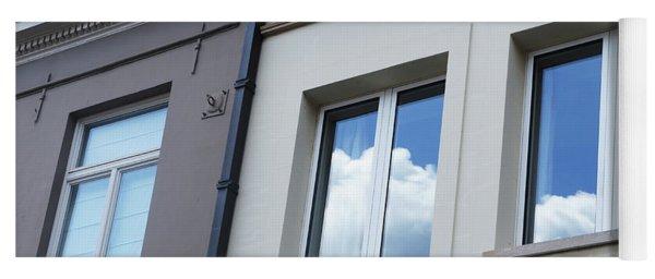 Cloudy Windows Yoga Mat