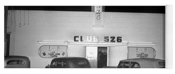 Club 526  Henry Franci, Salinas 1941 Yoga Mat