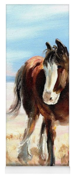Clydesdale Foal Yoga Mat