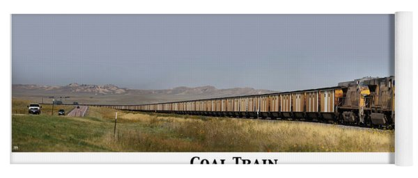 Coal Train Yoga Mat