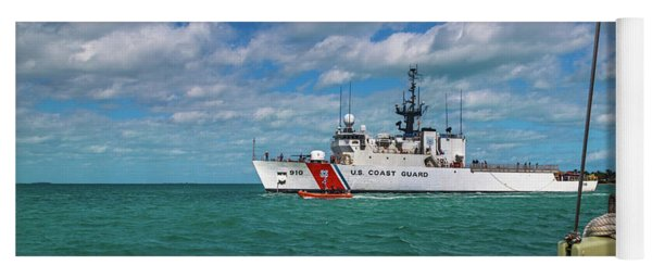 Coast Guard Heading Home Yoga Mat