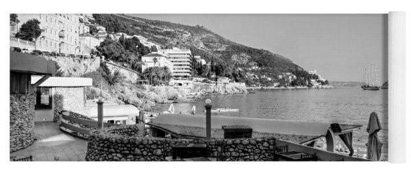 Coast Of Dubrovnik Yoga Mat
