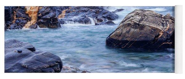 Coast Of Maine In Autumn Yoga Mat