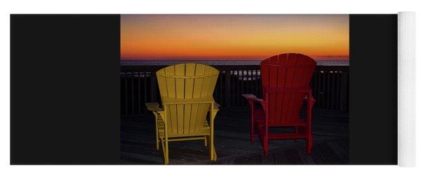 Yoga Mat featuring the photograph Coastal Mornings by Nicole Lloyd