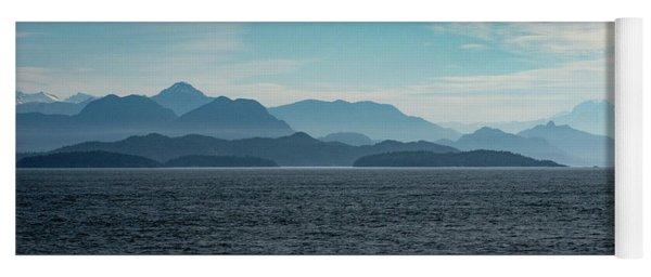 Coastal Mountains Yoga Mat
