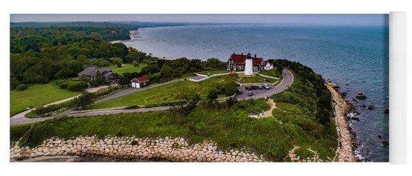 Coastal Nobska Point Lighthouse Yoga Mat