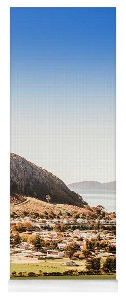 Coastal Tasmanian Town Yoga Mat