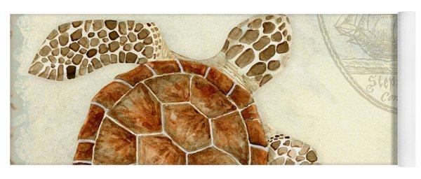 Coastal Waterways - Green Sea Turtle 2 Yoga Mat