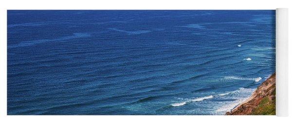 Coastline At Torrey Pines Yoga Mat