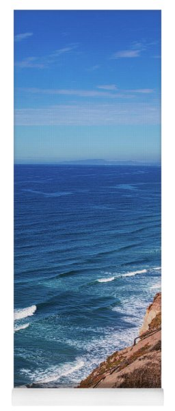 Coastline At Torrey Pines Yoga Mat