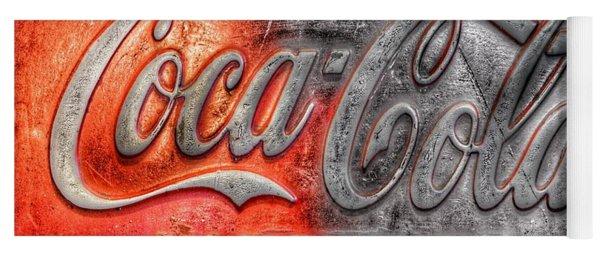 Coca Cola Yoga Mat